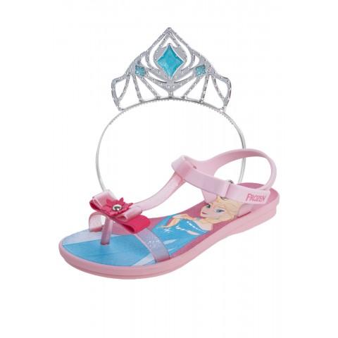 Sandália Frozen Disney Ice Magic Rosa