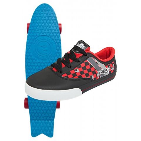 Tênis Hot Wheels Skate Boys Vermelho